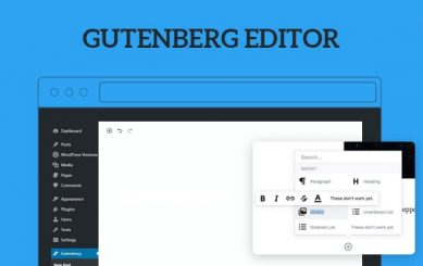 gutengberg wordpress